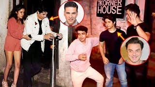 Akshay Kumar Son Aarav CAUGHT Drunk With Sohail Khan Son & Remo D