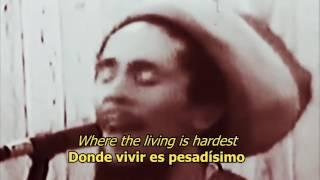 Concrete Jungle - Bob Marley (LYRICS/LETRA) (Reggae)