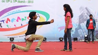 VIGNAN TARANG 2K15 dance by MECHANICAL'S | Chotu & Nazz crew