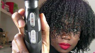 Comment définir ses boucles sur cheveux crépus