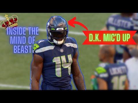 D.K. Metcalf Mic d Up