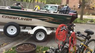 Move your boat trailer easily with the help of TRAX Power Dolly Systems Inc.
