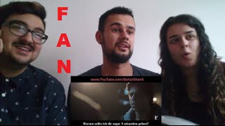 Fan - Official Trailer Bollywood Reaction/Review-Eng Subs-Shah Rukh Khan-German