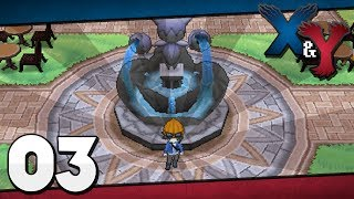 Pokémon X and Y - Episode 3 | Exploring Santalune City!