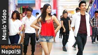 AALOP - (FLASH MOB) | New Nepali Pop Song 2016 by Axata Featuring Shubha Acharya | Aman Adhikary