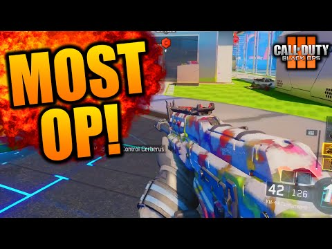 HOW TO MAKE THE KN-44 OVERPOWERED! CRAZY KN-44 BLACK OPS 3 BEST CLASS SETUP! (BO3 KN44)