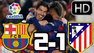 Atletico Madrid 1 2 Barcelona