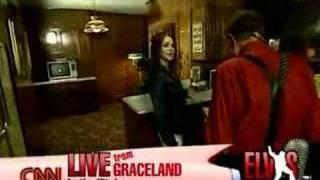 Elvis Presley's Graceland on Larry King Live (Part 1)