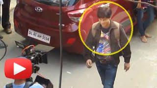 LEAKED : Shahrukh Khan Shooting for FAN In Dwarka!