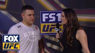 Tai Tuivasa post-fight recap with Heidi Androl   INTERVIEW   UFC FIGHT NIGHT