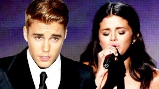 Justin Bieber Reacts To Selena Gomez Crying At The AMAs