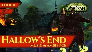 Hallow's End 2017 - Music & Ambience (1 hour, 4K, World of Warcraft Legion)