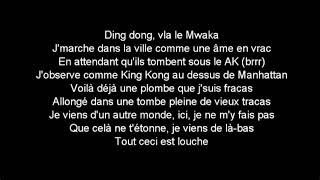 Kalash - Mwaka Moon ft. Damso / Parole et Musique