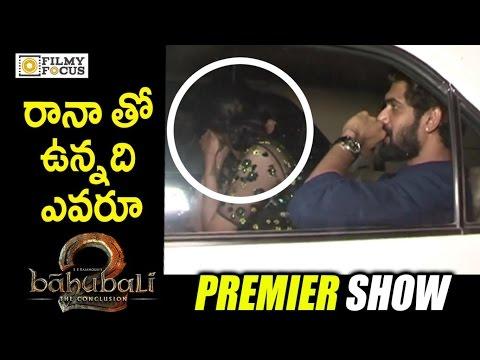 Xxx Mp4 Rana Daggubati With Secret Bollywood Girl Friend At Baahubali 2 Premier Show Prabhas Rajamouli 3gp Sex