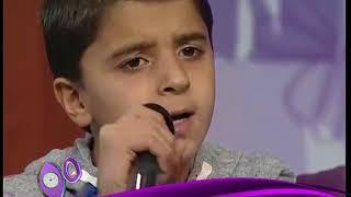 أول لقاء تلفزيوني مع الفتى السوري محمد جنيد - صرخة طفل و ساعة وتغيب الشمس مباشر