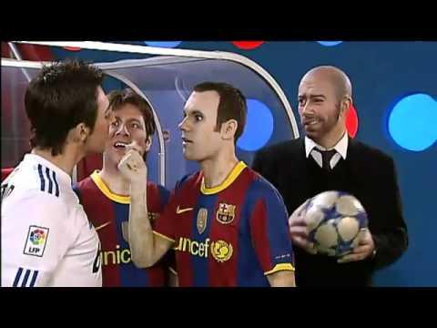 funny real madrid vs barcelona
