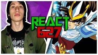 React 627 Rap do Seiya de Pégaso (Tauz)