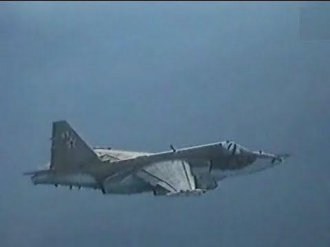 Su-25 Frogfoot - Rare Live Fire Footage