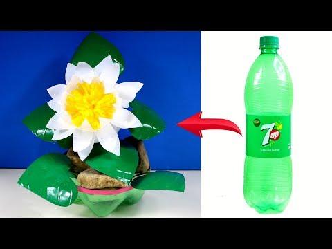 Xxx Mp4 বোতল দিয়ে শাপলা ফুল গাছ তৈরী Crafts With Plastic Bottle Waterlily Tree From Plastic Bottle 3gp Sex