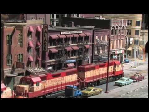Street Running Model Railroad In HO Scale on The City Edge Layout