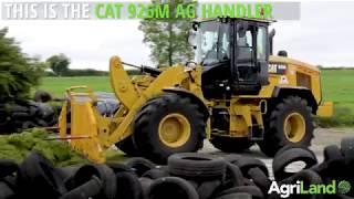 CAT 926M 'Ag Handler' tackling Irish silage