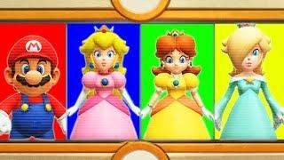 Super Mario Party - Mario vs Rosalina vs Peach vs Daisy - (Master CPU) Minigames