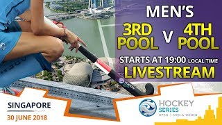 Chinese Taipei v Myanmar | 3rd Pool v 4th Pool | Men's Hockey Series Open Singapore | LIVESTREAM