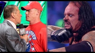 5 Reasons Why WWE Cancelled The Undertaker vs. John Cena at WrestleMania 33