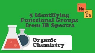 5 Identifying Functional Groups from IR Spectra