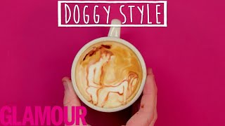 The 7 Best Postions for Women to Achieve Orgasm (Illustrated in Latte Art) | Glamour