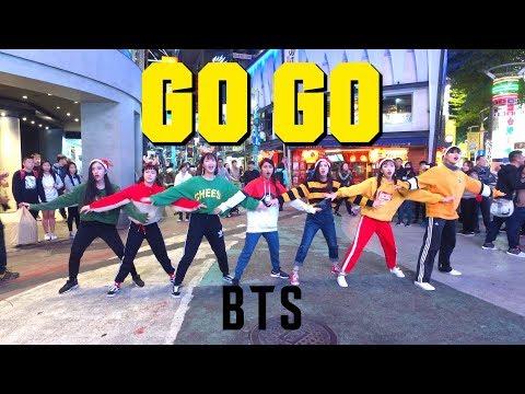 Kpop In Public Challenge Bts방탄소년단 고민보다 Go Go Go Merry Xmas Cover By Keyme