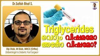 Triglycerides വെറും വിഷമമോ അതോ വിഷമോ |Dr.Satish Bhat S.|Diabetic Care