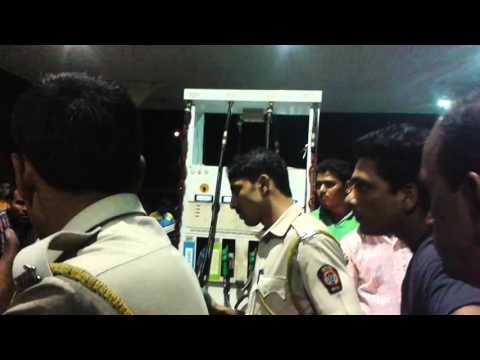 Petrol Pump Cheating.. Part II-Koparkhairane, Navi Mumbai