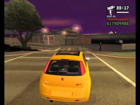 FIAT PUNTO NO GTA EDUARDIINHO 3D