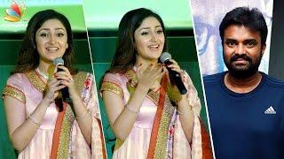 AL Vijay is my ELDER BROTHER : Actress Sayesha Saigal Speech | Vanamagan Songs Launch