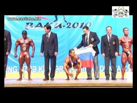 Mundial Senior IFBB 2010 catg 65 kilos