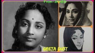 GEETA ROY & ShankarDas Gupta-Film-AAHUTI-1950~Lehron Se Khele Chanda-[ Rare Duet ]