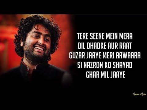 Maine Socha Ke Chura Loon Lyrics – Arijit Singh Shreya Ghoshal Phir Se