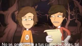 The Adventurous Adventures of One Direction (Subtitulos español) (Parte 1--2).-240p