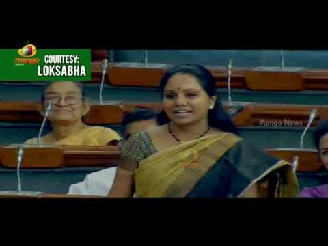 TRS MP Kavitha Makes Funny Comments Over Assembly Sessions | Congratulates Arun Jaitley Over Budget