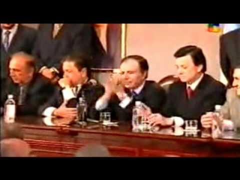 Proclamación de la fórmula Duhalde - Ortega (1999)