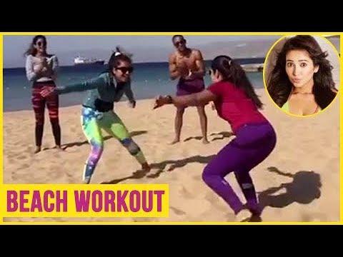 Xxx Mp4 Asha Negi And Pooja Gor HOT Beach Workout 3gp Sex