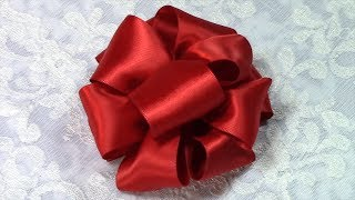 DIY Ribbon Bow, Tutorial, Variant #5, How to Make Multi Gift Bow