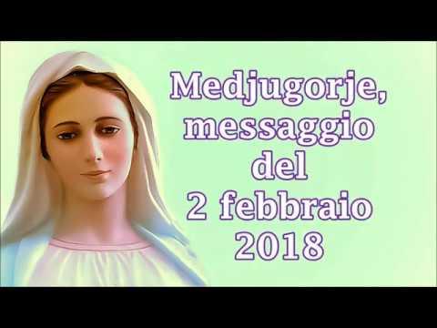 Medjugorje messaggio del 2 febbraio 2018