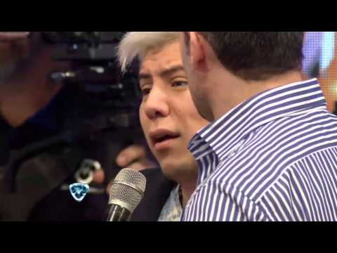 Showmatch 2014 Tinelli se enojó con el ex fan de Wanda
