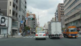 Tokyo drive Odaiba to Shibuya 4K