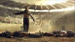 SPARTACUS TRIBUTE - WE WERE GLADIATORS (Music video)