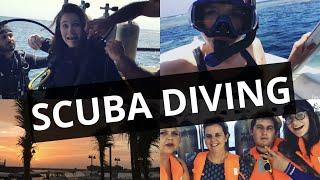 My first time SCUBA DIVING!!!🐬😲 (Jeddah, Saudi Arabia)- Red Sea 🌊
