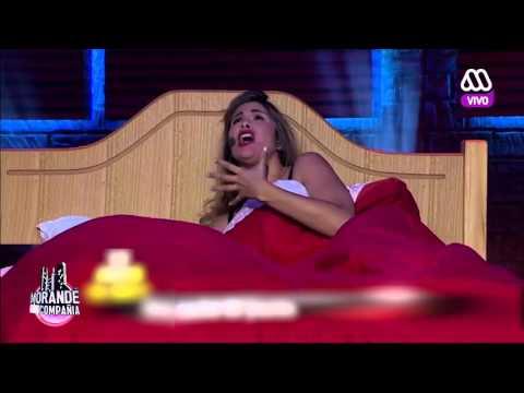 Miguelito en la cama con Laura - Morandé con Compañía