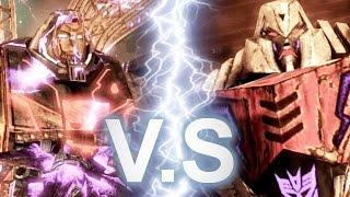 Megatron VS Omega Supreme Epic Battle
